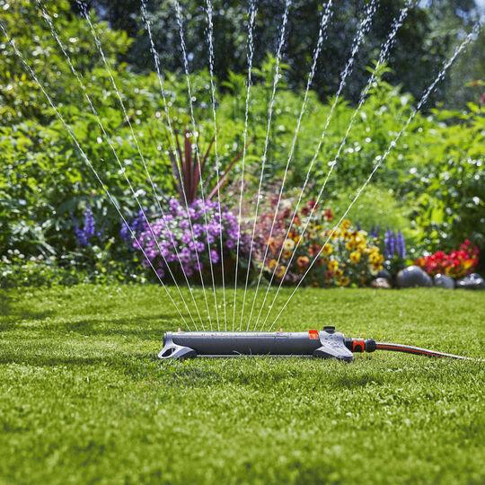 GARDENA Oscillating Sprinkler AquaZoon S - Flymo's watering partner image number null